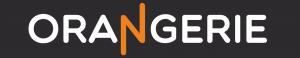 logo orangerie met zwarte achtergrond